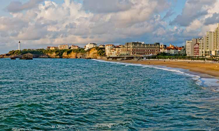 vacances camping à Biarritz