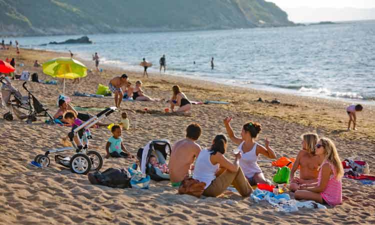 Camping plage Saint Jean de Luz