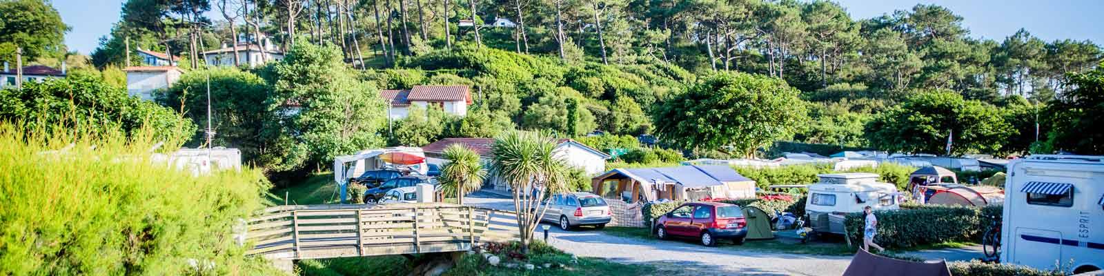 emplacement camping saint jean de luz