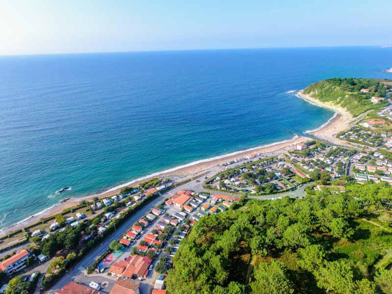 camping pas cher sur la côte basque
