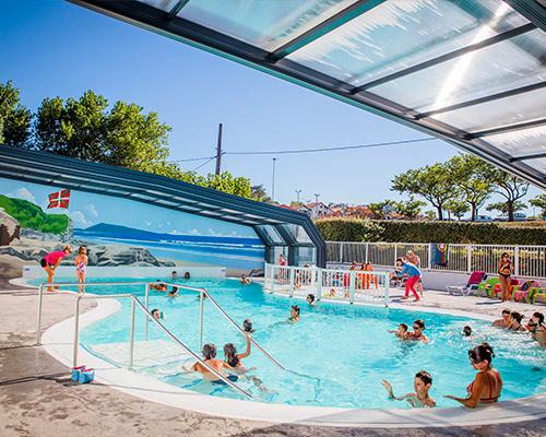 Vermietung Baskenland Schwimmen beaufsichtigt