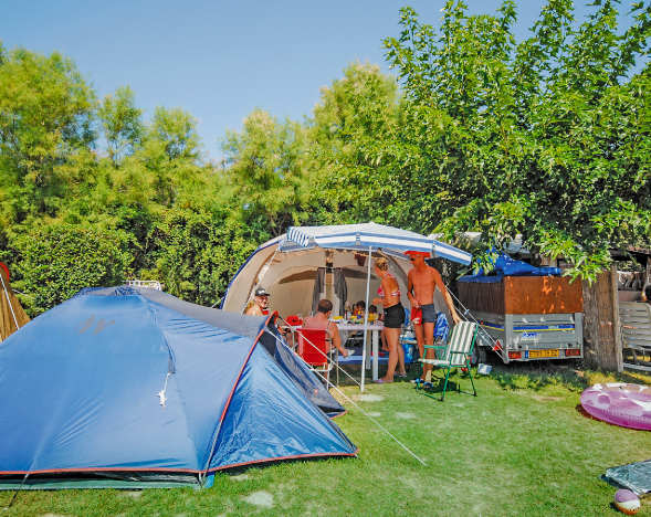 Location-Verleih in Baskenland Camping