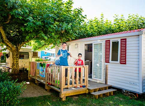 Mobile home rentals on the Basque coast